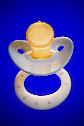 Stock Photo: 1660R-12309 Close-up of a pacifier
