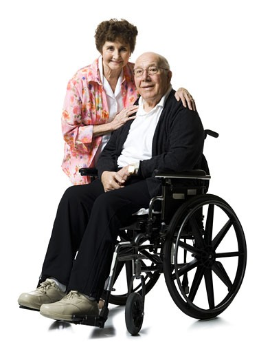 Stock Photo: 1660R-14838 Elderly couple