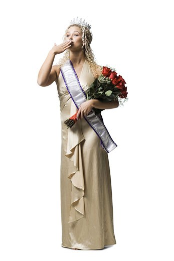 pageant winner : Stock Photo