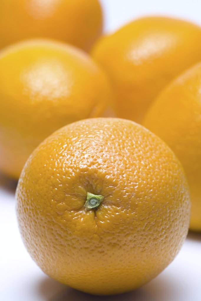 Stock Photo: 1660R-2411 Close-up of oranges (citrus sinensis)