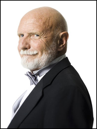 Stock Photo: 1660R-28252 Portrait of a senior man smiling