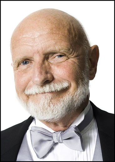 Stock Photo: 1660R-28254 Portrait of a senior man smiling