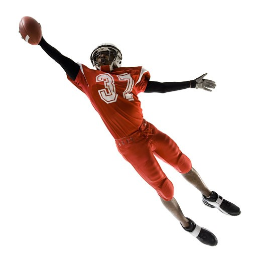 Stock Photo: 1660R-28976 Football player