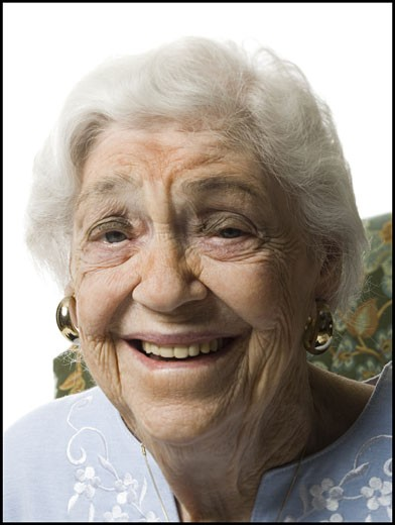Stock Photo: 1660R-29466 Elderly woman