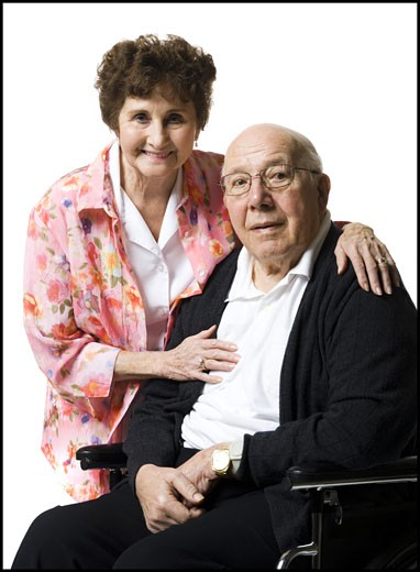 Stock Photo: 1660R-29477 Elderly couple