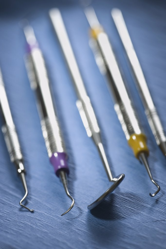 Dental instruments : Stock Photo