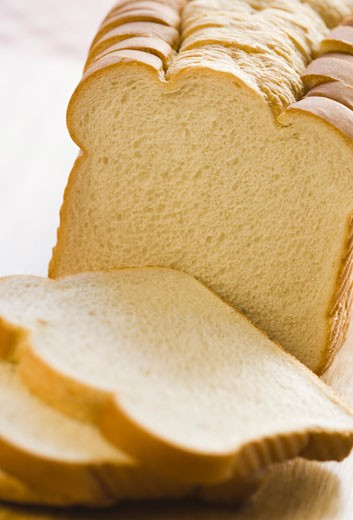 Close-up of slices of bread : Stock Photo