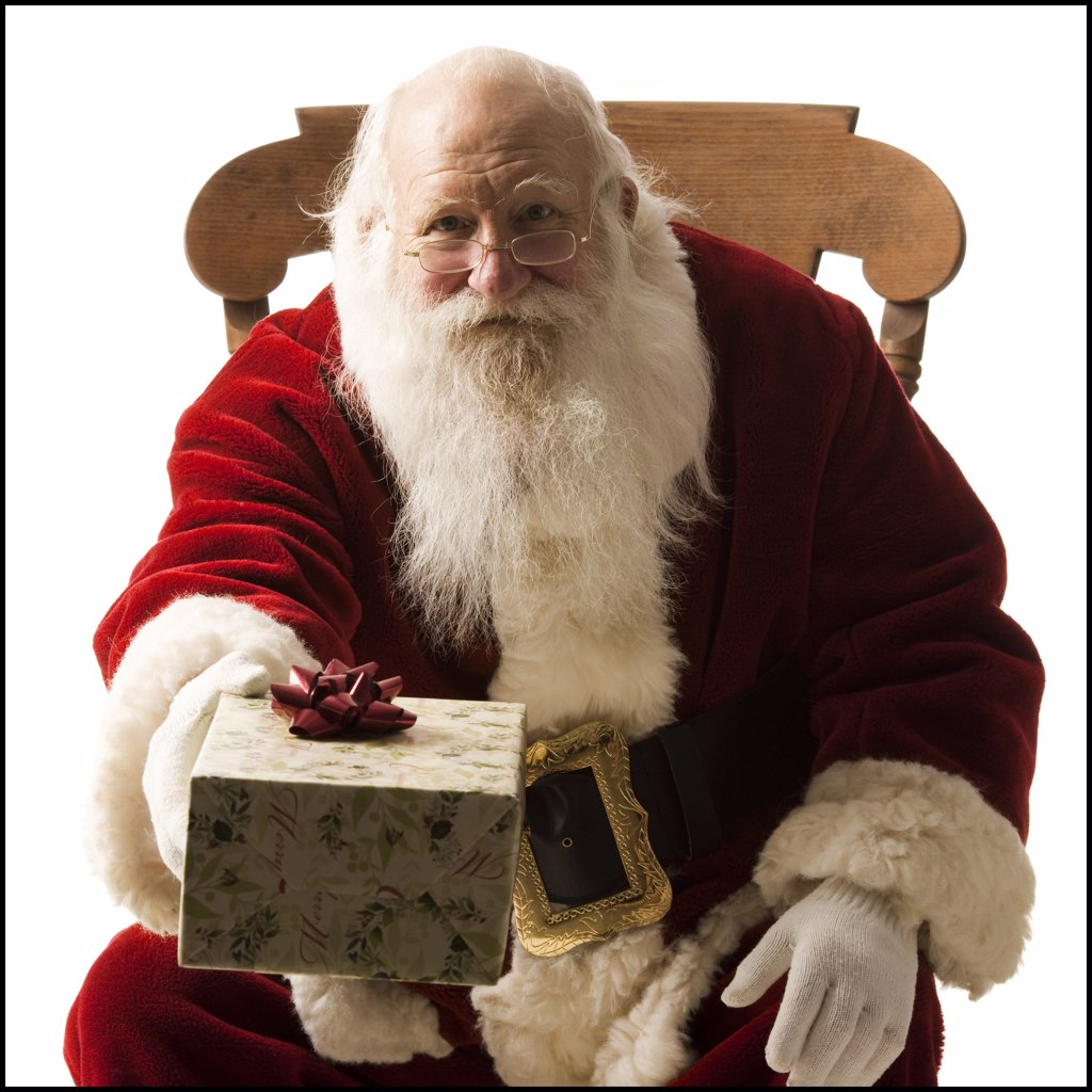 Stock Photo: 1660R-61513 santa claus