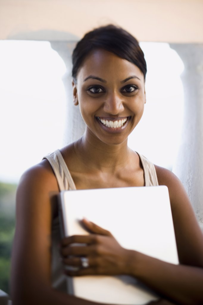 Stock Photo: 1660R-63410 African-American woman