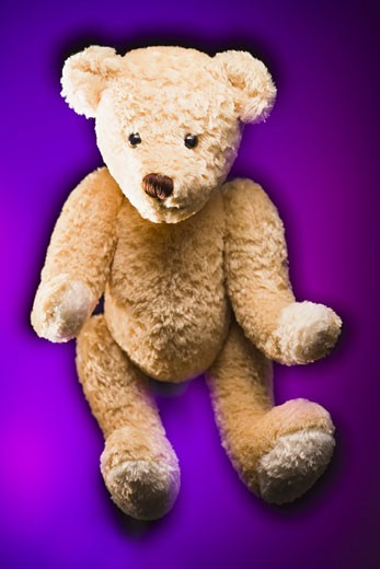 Close-up of a teddy bear : Stock Photo