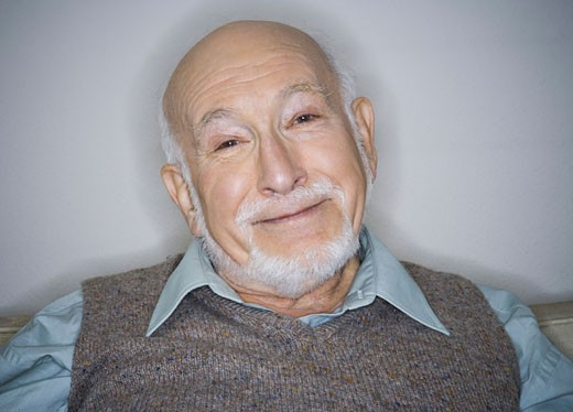 Stock Photo: 1660R-8137 Portrait of a senior man