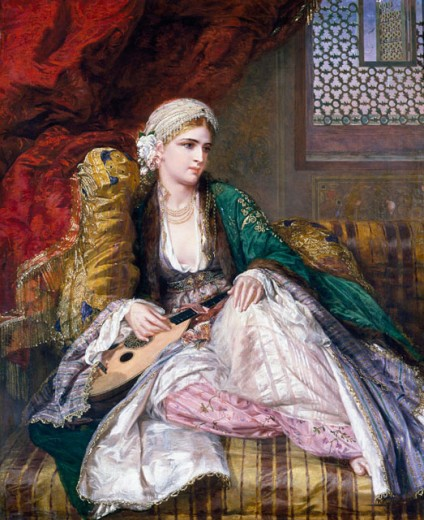 Stock Photo: 1661-127 Eastern Beauty 1865 Charles Wynne Nicholls (1831-1903 British)