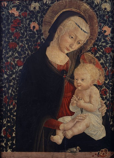 Stock Photo: 1661-758 Madonna and Child, Pier Francesco Fiorentino, (1444-1497/Italian)