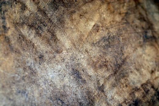 Close-up of a rusty iron sheet : Stock Photo