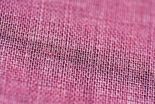 Stock Photo: 1663R-12050 Close-up of a pink sack