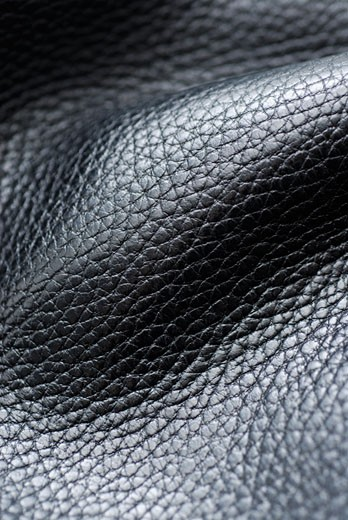 Stock Photo: 1663R-12056 Close-up of leather
