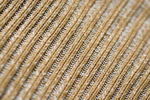 Close-up of a crochet textile : Stock Photo