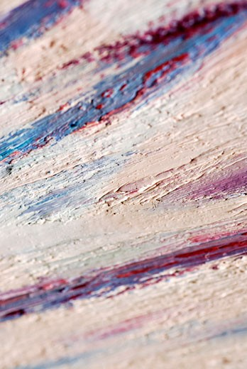Stock Photo: 1663R-12094 Close-up of a painted wall