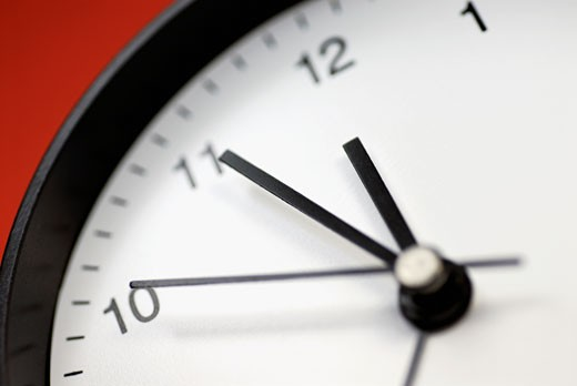Stock Photo: 1663R-1288 Close-up of a clock