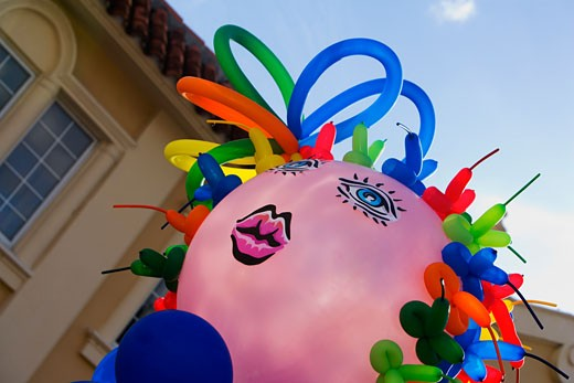 Stock Photo: 1663R-15165 Close-up of a balloon