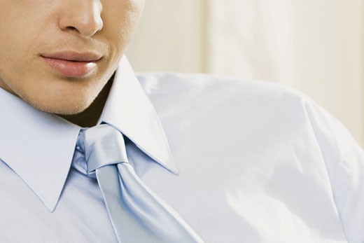 Close-up of a businessman : Stock Photo