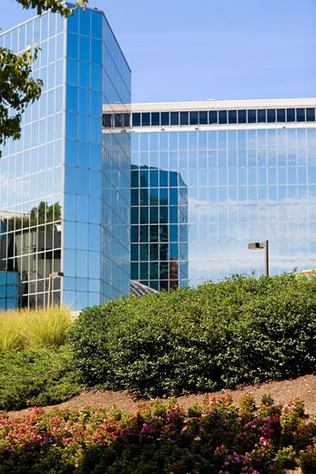 Low angle view of a hotel, Hyatt Regency Hotel, Baltimore, Maryland, USA : Stock Photo