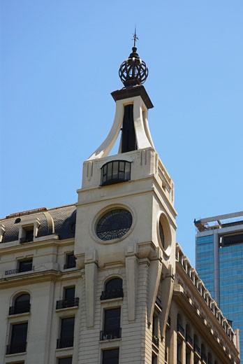 Low angle view of a building, Buenos Aires, Argentina : Stock Photo