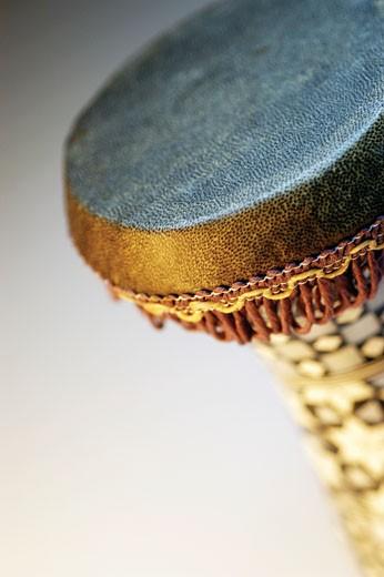 Stock Photo: 1663R-32441 Close-up of bongo drum
