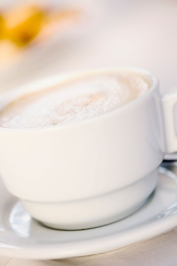 Stock Photo: 1663R-34876 Close-up of a cup of coffee