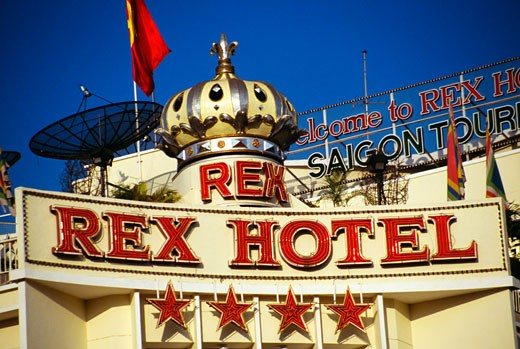 Rex Hotel, Ho Chi Minh City (formerly Saigon) Vietnam : Stock Photo