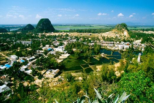 Stock Photo: 1663R-49696 Marble mountain, Danag, Vietnam