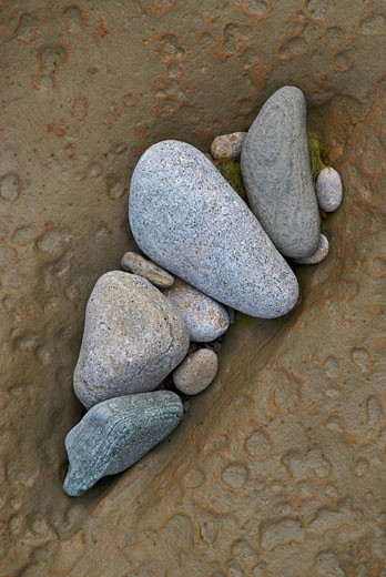 Stock Photo: 1663R-53295 Close-up of pebbles