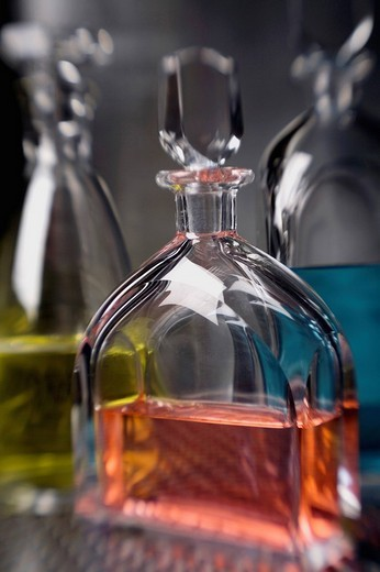 Stock Photo: 1663R-64223 Close_up of a perfume bottle