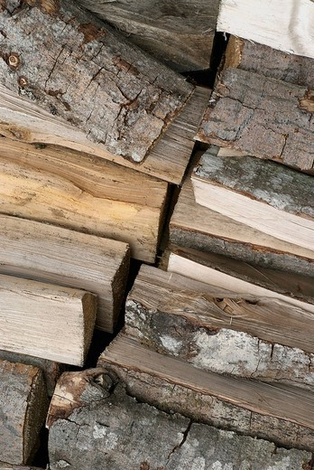 Close_up of logs : Stock Photo