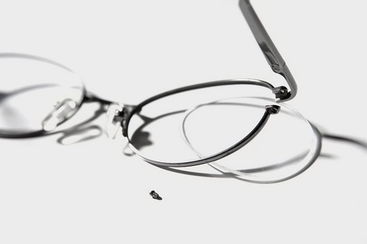 Stock Photo: 1663R-67136 Close_up of eyeglasses