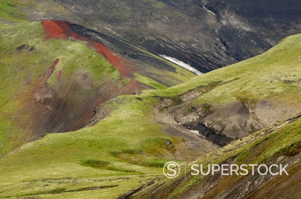 Stock Photo: 1669-33197 Tolbachik volcano area on Kamchatka