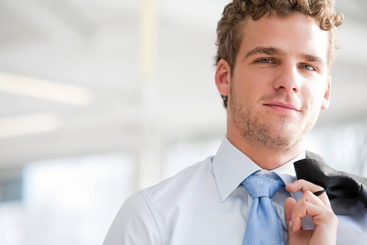 Stock Photo: 1669R-31892 portrait of young businessman