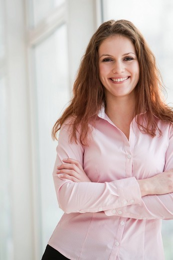 portrait of young businesswoman : Stock Photo
