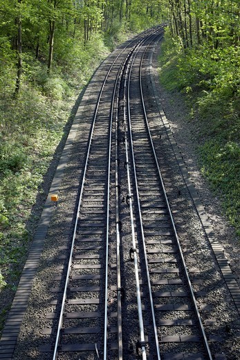 Stock Photo: 1669R-32556 railway tracks