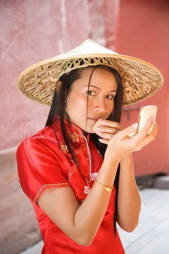 Asian woman´s portrait : Stock Photo