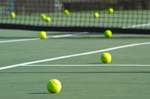 Tennis balls : Stock Photo