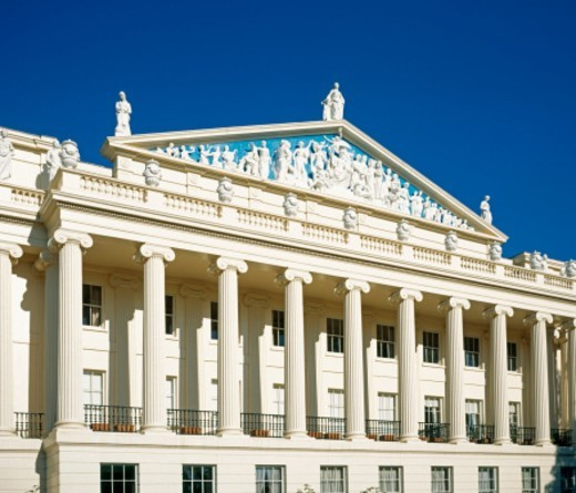 Stock Photo: 1672R-18135 England, Londoon, John Nash Building by Regent's Park