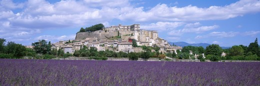 France, Provence, Drome, village of Grignan : Stock Photo