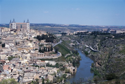 Apr 2004, Castilla-La Mancha. : Stock Photo
