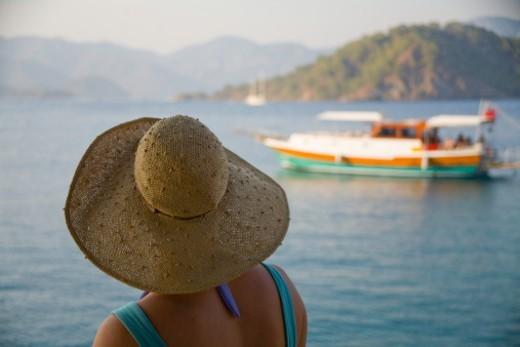 Stock Photo: 1672R-23855 Turkey, Mediterranean Sea