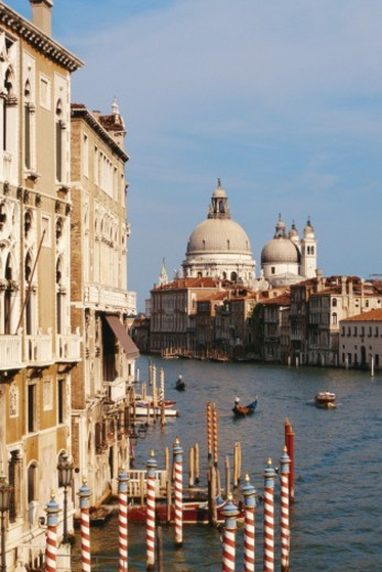 Aug 2002, Basilica di Santa Maria della Salute. : Stock Photo