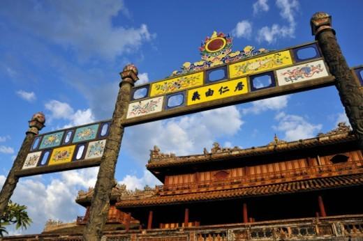 Hue's Royal Citadel : Stock Photo