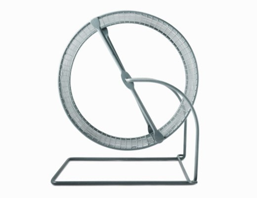 Stock Photo: 1672R-32395 Hamster Wheel