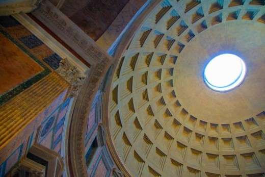 The Pantheon in Rome : Stock Photo