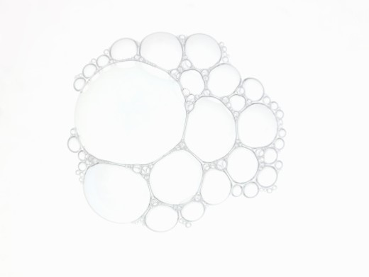 Stock Photo: 1672R-39386 Soup Bubbles.